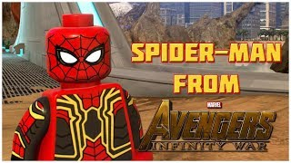 SPIDER-MAN (INFINITY WAR) in LEGO Marvel Super Heroes 2