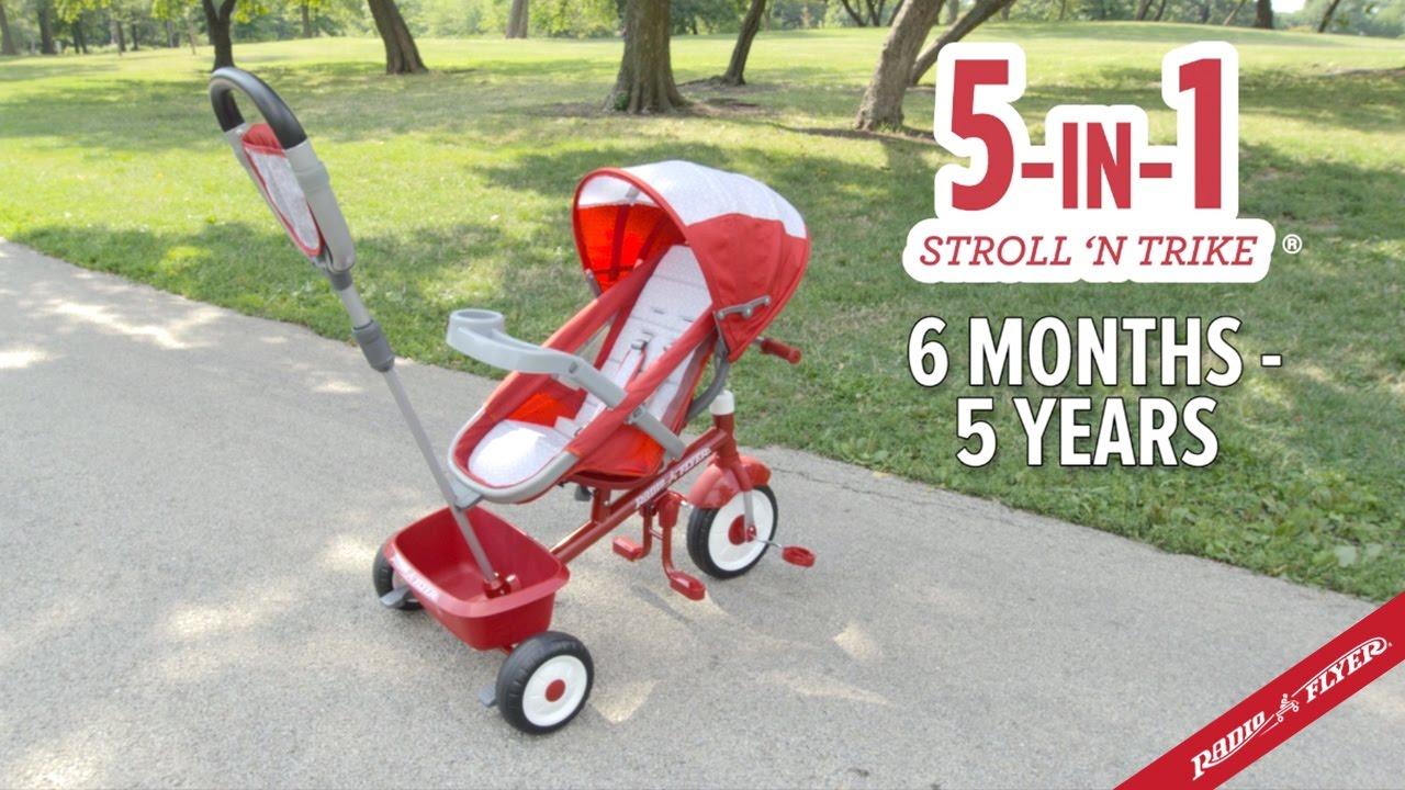 5 In 1 Stroll N Trike You