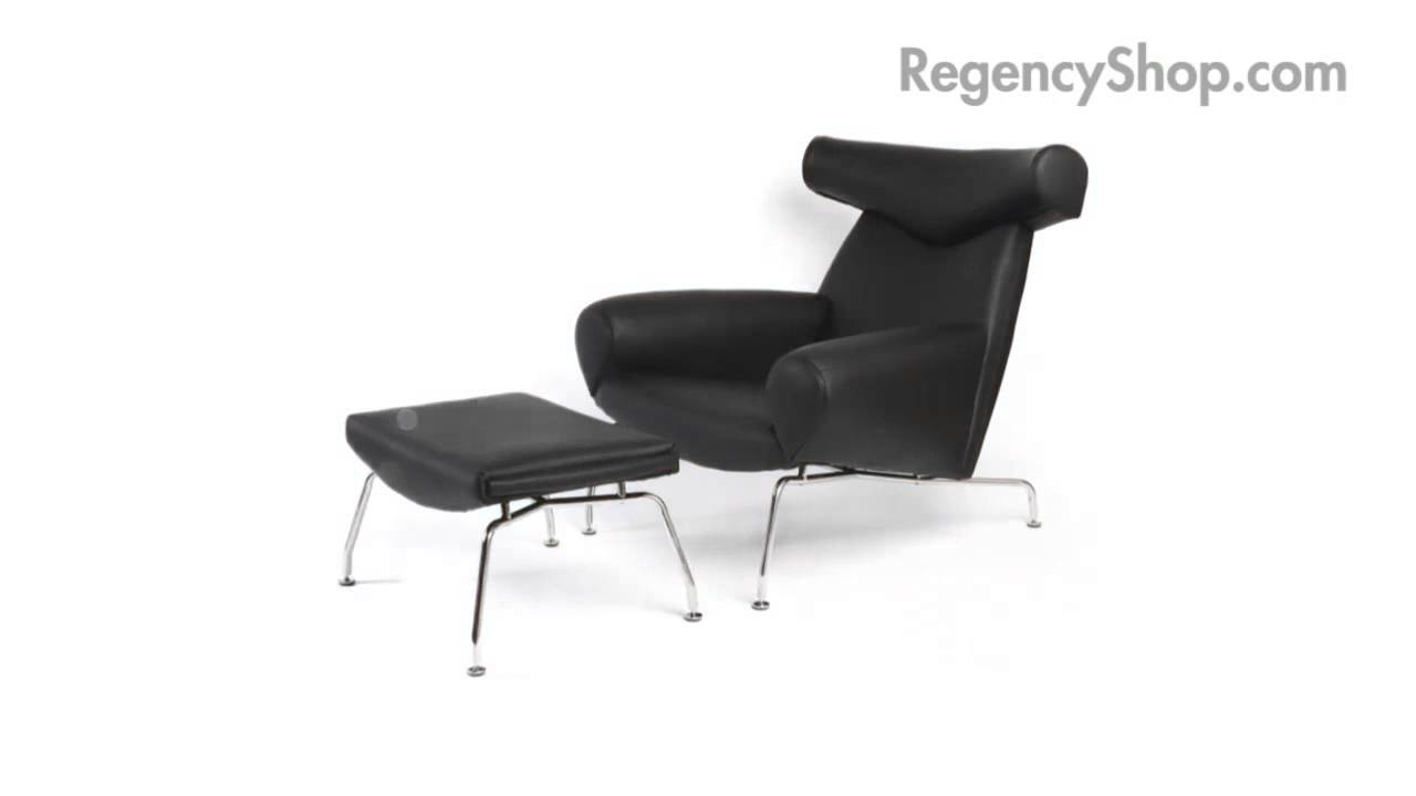 Hans Wegner Ox Chair   Regencyshop.com   YouTube