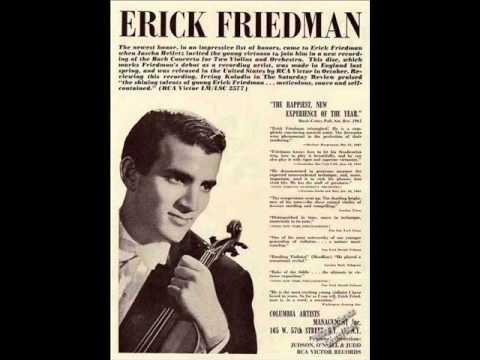 Erick Friedman & David Dubal, 10/1/1982