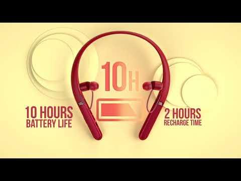 JBL LIVE 200BT In-ear Bluetooth Handsfree Μαύρο