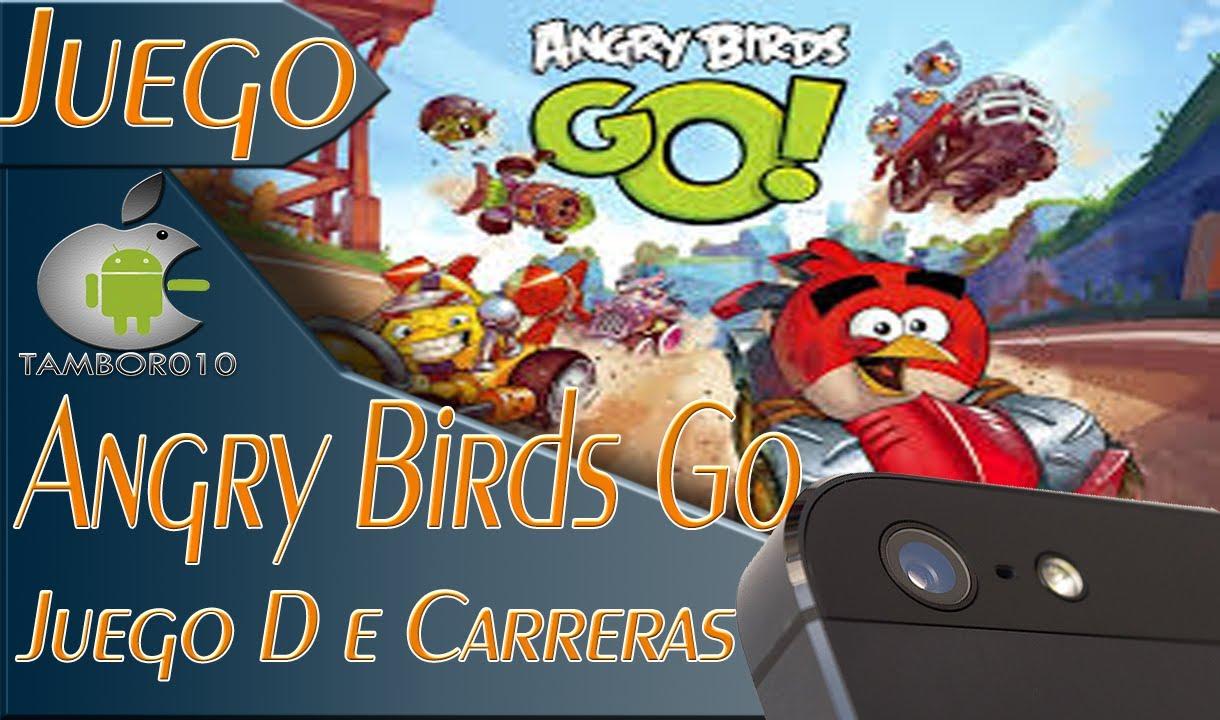 Angry Birds Go Revisadoreview Juego De Carreras De Angry Birds