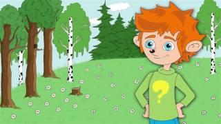 Обучающий развивающий мультик  для детей про животных,насекомых,птиц и рыб!