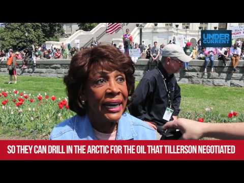 "Maxine Waters: Tension in Syria ""Phony,"" a Ruse to Lift Oil Sanctions on Russia"