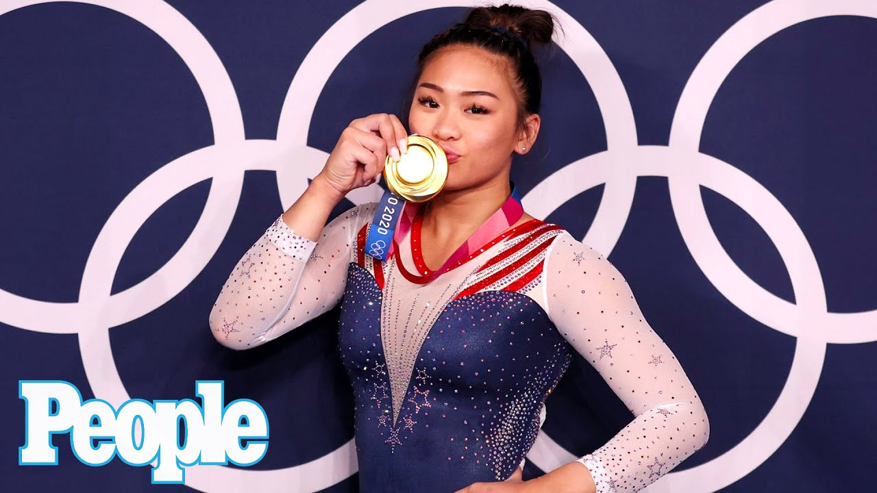 Photos: Jade Carey celebrates gold medal win