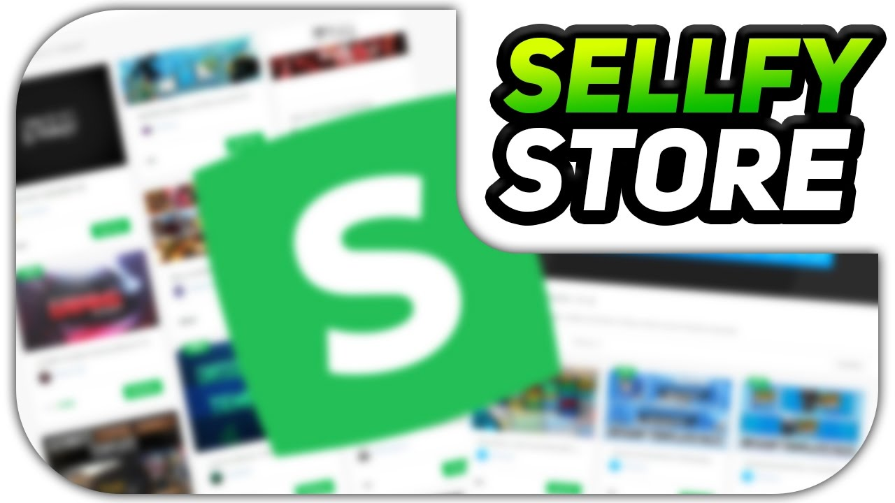 Sellfy! - New Way to Download My Templates & GFX