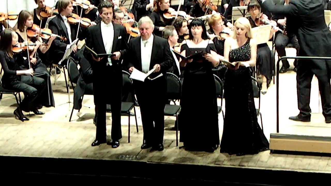 met het Concertkoor in Kiev / Requiem van Mozart