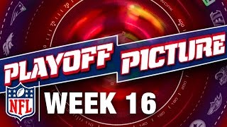 Playoff Picture, Previews, & Predictions After Week 16 | NFL NOW