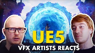 VFX Artists React to Unreal Engine 5 Reveal