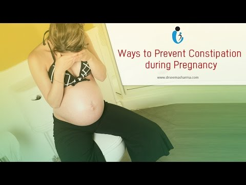 5 Ideas to Prevent Constipation While Pregnant