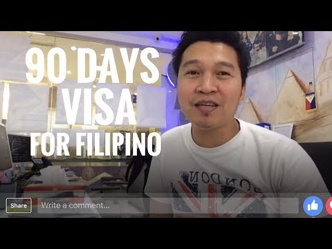 90 DAYS SPECIAL VISA FOR PINOY IN UAE (via FB Live)