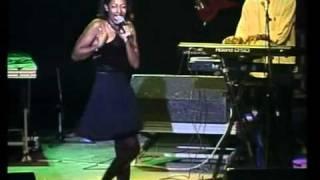 Linzy Bacbotte. Concert,  La Reunion, 2000. TANGALE et LA CASE EN TOLLE