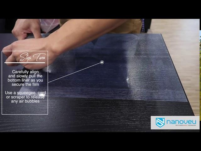 How to Apply Nanoshield: Surfaces