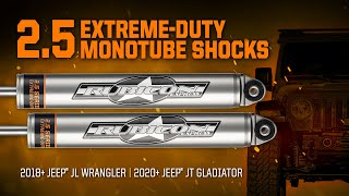 Rubicon Express 2.5 Extreme Duty Monotube Shocks