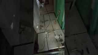 Заливка пола в хрущевке. Ремонт кухни
