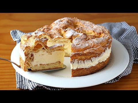 Tarta Karpatka - Un postre super delicioso, económico y fácil de hacer
