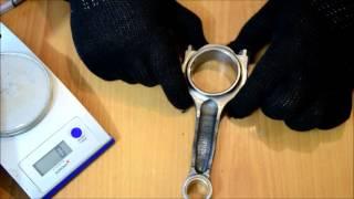 Обзор шатунов СпортДеталь 134мм палец 22мм