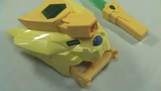 1997年放送のロボットアニメ、勇者シリーズ第8弾「勇者王ガオガイガー」より、放送当時のなりきり玩具をレビューです。 ・G-02...