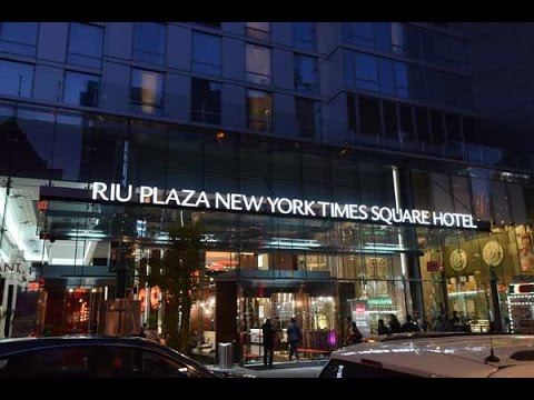 riu plaza new york times square suite review youtube. Black Bedroom Furniture Sets. Home Design Ideas