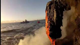 Vulcano Hawaii disaster largest eruption yet imminent