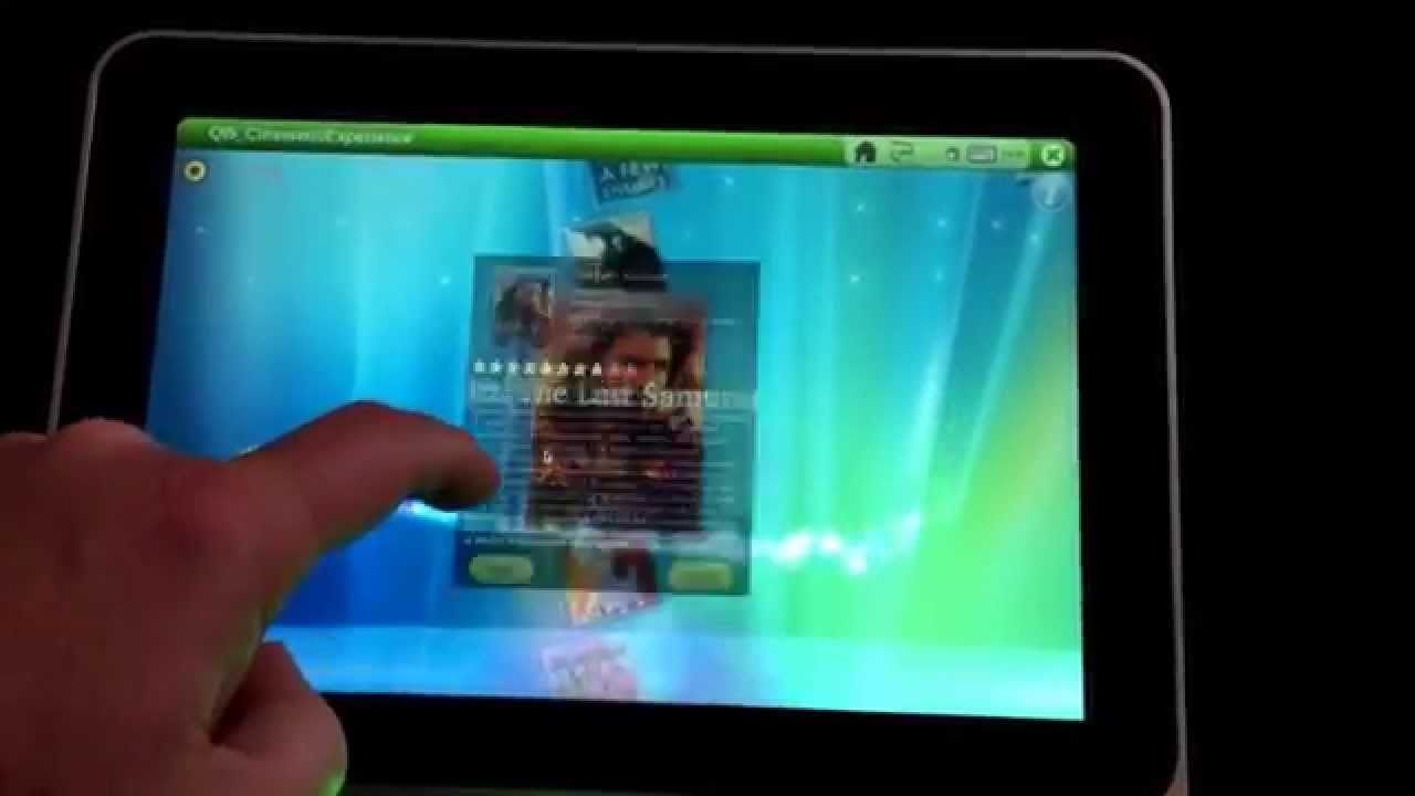Yocto QT5 cineramic experience demo with touchscreen (i MX6)