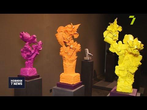 Новости 7 канал Одесса: «Одкровення» Михайла Реви в Художньому музеї