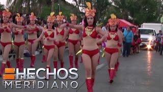 Mazatlán se viste de colores por la fiesta de Carnaval
