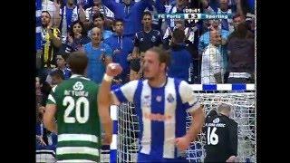 Andebol: FC Porto-Sporting, 30-25 (Andebol 1, 17.ª jornada, 20/12/15)