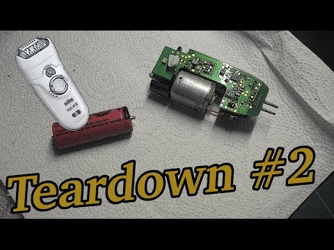 Teardown #2: Braun Silk Epil Epilator