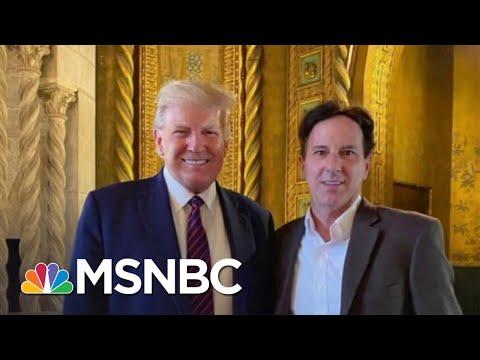 Report: Trump Met Man Who Helped Organize 'Patriot Caravans' On Jan. 6
