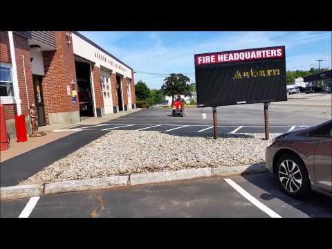 Auburn Ma,  Fire Headquarters  With Udizzy1969