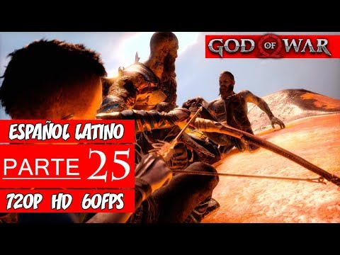 God of War PS4 | Walkthrough en Español Latino | Parte 25 Jefe Final (Sin Comentarios)