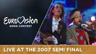 Teapacks - Push The Button (Israel) Live 2007 Eurovision Song Contest