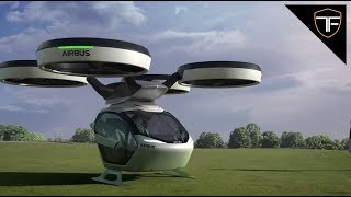 The Airbus Drone - Car, Train and Drone All in One