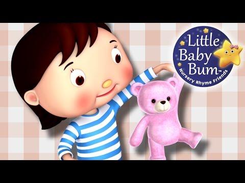 Teddy Bear Teddy Bear | Nursery Rhymes by LittleBabyBum!