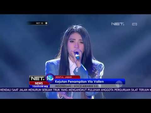 Via Vallen Sukses Ajak Penonton Goyang di Indonesian Choice Awards - NET 10