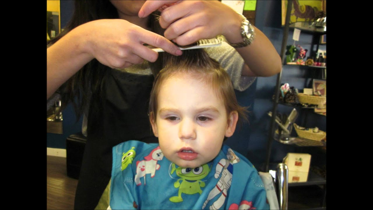 Evans First Haircut Music Video Youtube