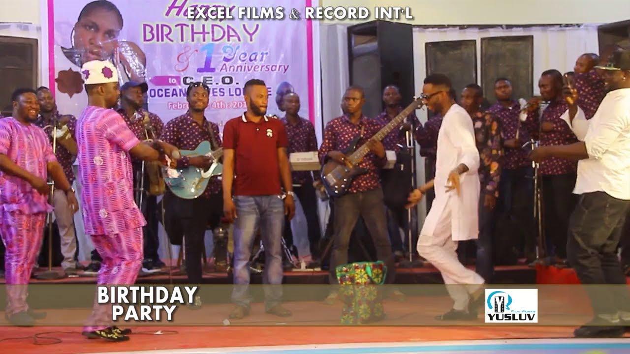 Download 9ice, Pasuma and Ronke Oshodi Oke Rocks the Dance hall in Birthday Party Faze 1
