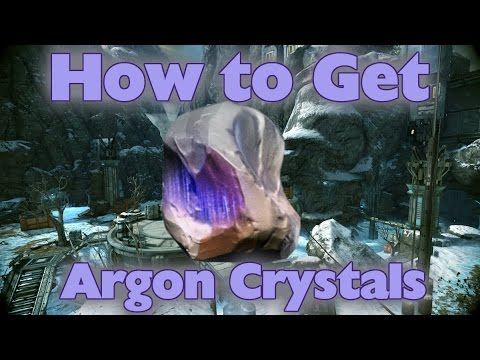 Where do you get argon crystals in warframe