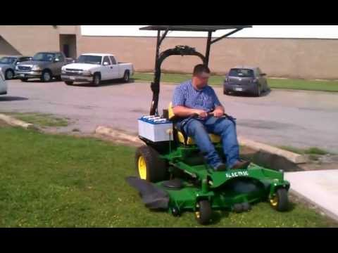 Electric Zero Turn Lawn Mower
