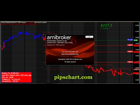How to import stock quotes data or metastock in Amibroker