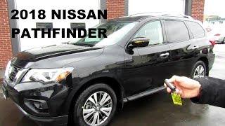 2018 Nissan Pathfinder Sv Tech 4x4 In-Depth Walk Around, First look & Review