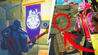FIND THE SECRET STANDARD ? Challenges Week 8 Fortnite