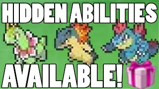 How to get Hidden Ability Johto Starters! HA Johto Starter Event Pokemon Available Now!