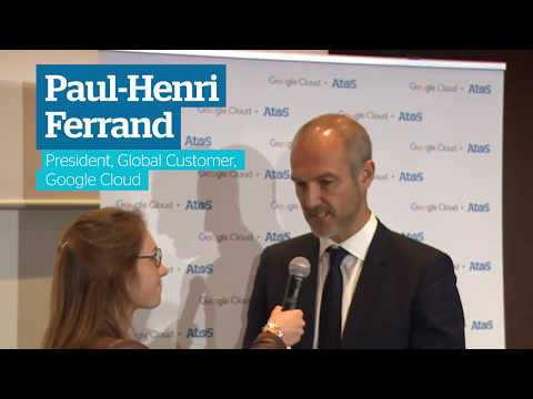 Interview with Paul-Henri Ferrand from Google Cloud – following partnership announcement
