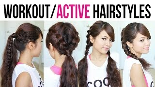 Cute & Easy Back-to-School Gym Hairstyles for Medium to Long Hair