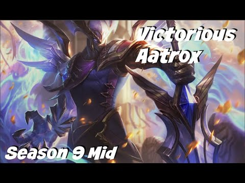 League of Legends: Victorious Aatrox Mid Gameplay