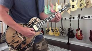 Isolated Guitar Rhythm Lick - 18 & Life - 10s Custom Relic Guitar
