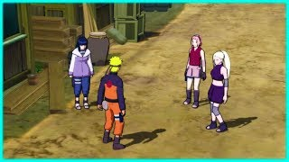 Naruto chooses Hinata over Sakura and Ino making them Jealous - Naruto Shippuden Ninja Storm 3