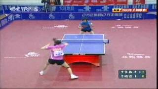 Li Jia Wei vs Li Xiao Xia (2008 China Super League)